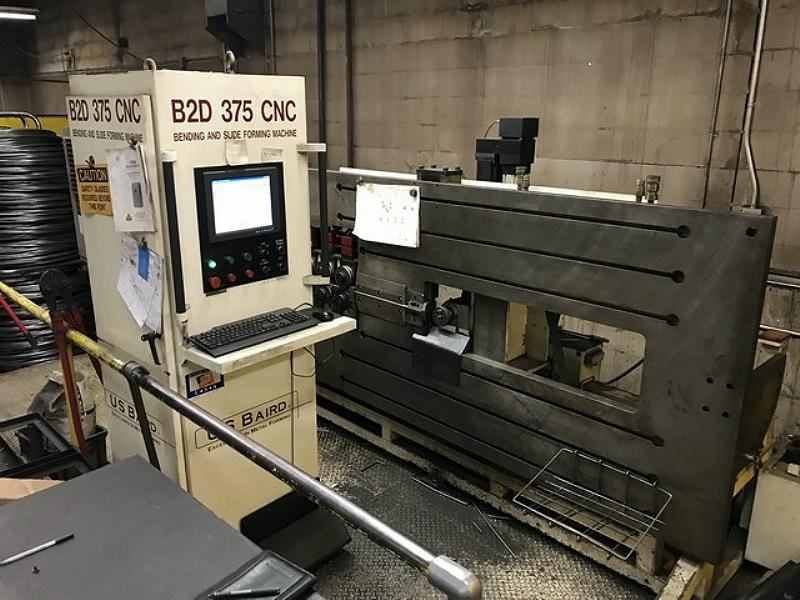 Stock no: 7485 - 3D CNC WIRE BENDER