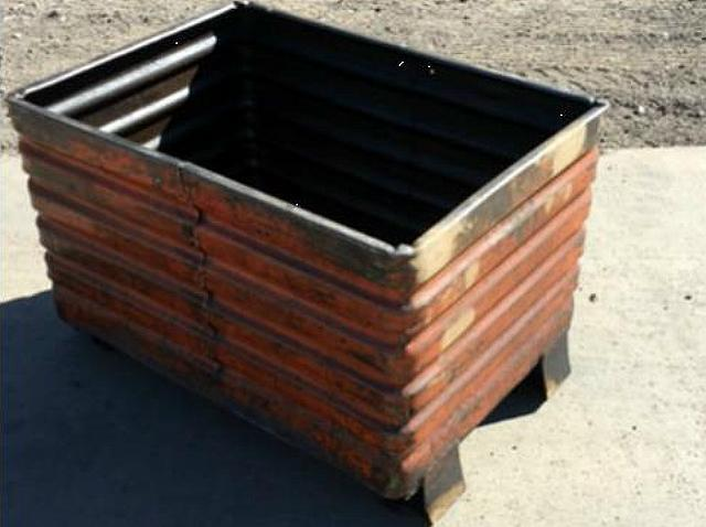 Stock no: 7437 - STEEL CONTAINER BINS