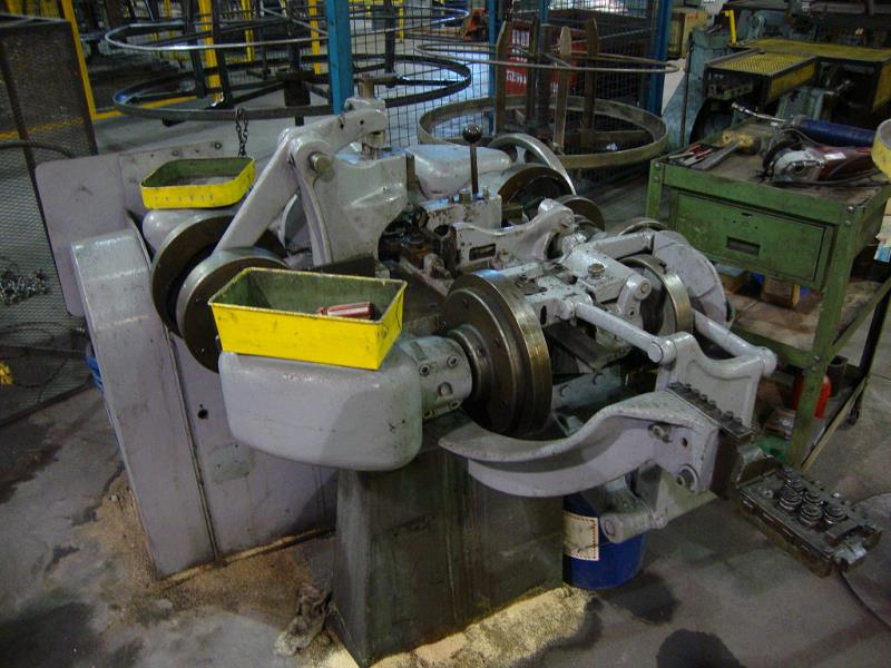 Stock no: 7154 - FOUR SLIDE WIRE MACHINE