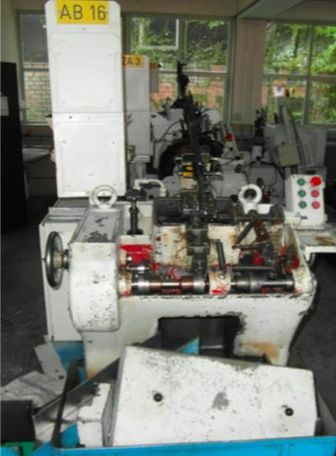 Stock no: 7579 - POINTING, CHAMFERING, ROUNDING MACHINE
