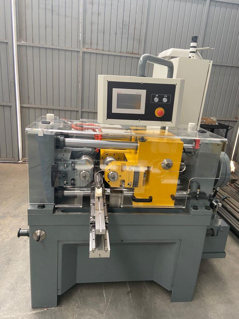 Stock no: NEW - TWO DIE CYLINDRICAL INFEED/THRUFEED THREAD ROLLING MACHINE