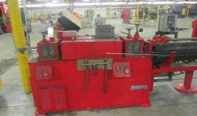 Stock no: 7726 - WIRE STRAIGHTEN & CUT MACHINE