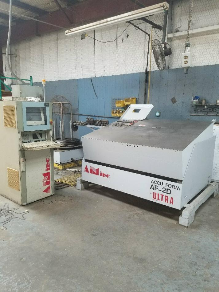 Stock no: 7476 - 2D CNC WIRE BENDER