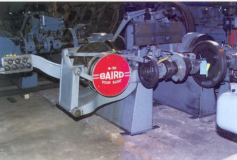 Stock no: 5087 - FOURSLIDE WIRE MACHINE