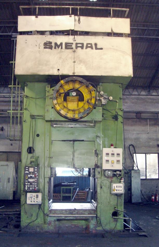 Stock no: 7554 - 2500T MECHANICAL CRANK TYPE FORGING PRESS