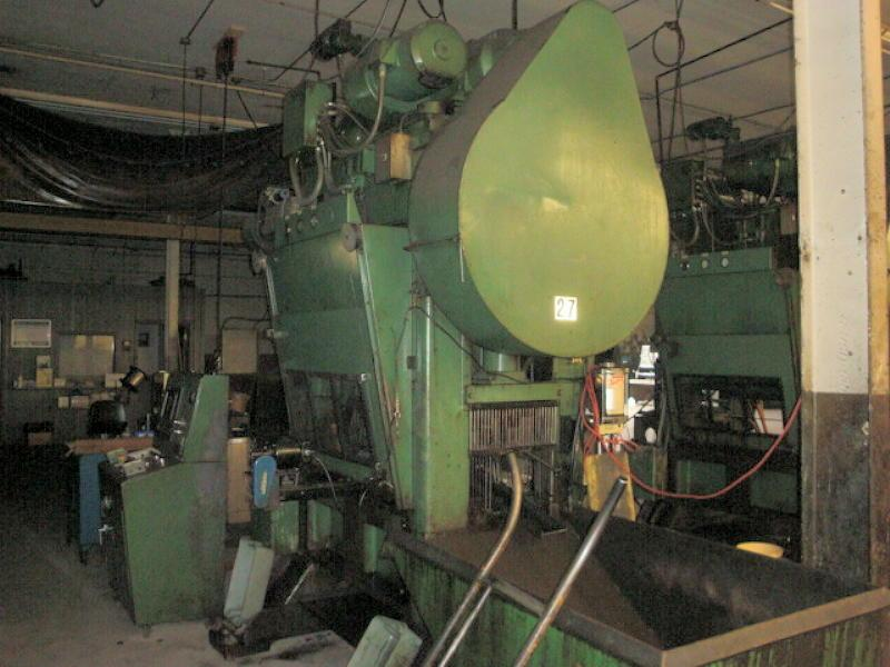 Stock no: 5725 - 60 TON HIGH SPEED STRAIGHT SIDE PRESS