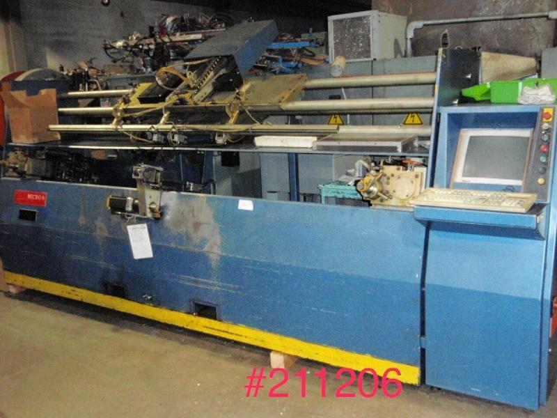 Stock no: 6382 - 3-AXIS CNC WIRE BENDER